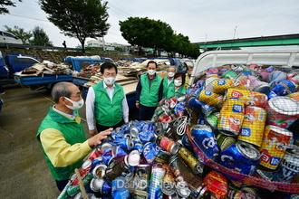 청도군, 재활용 수거로 소중한 환경보호