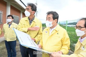 김천시, 수해대비 농업기반시설 현장점검 실시