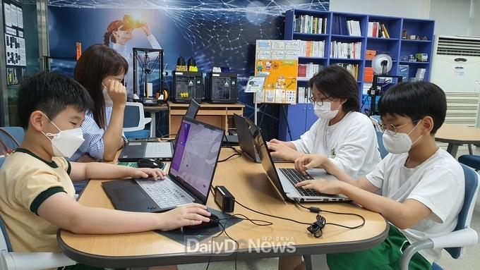 경북 초등생,'코딩 프로젝트 챌린지'1등 수상
