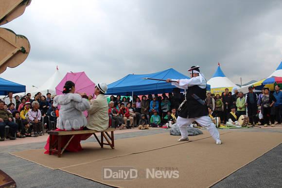 마당놀이 덴동어미 풍기인삼축제 공연