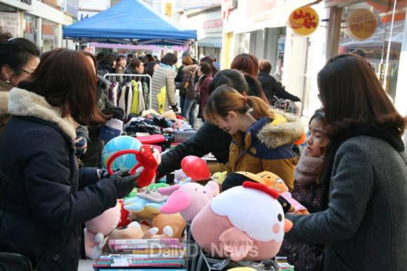 상주왕산장터, 프리마켓 행사 개최