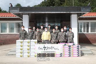 예천군 통합방위협의회, 추석맞이 군부대·기관 등 위문